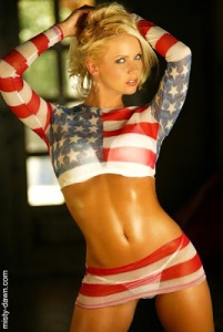 USA Body Paint